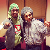 Nick Cannon and Ghani