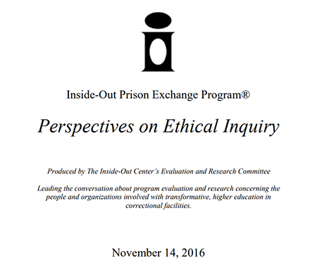 cover of Perspectives on Ethical Inquiry PDF